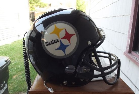 Steelers helmet phone